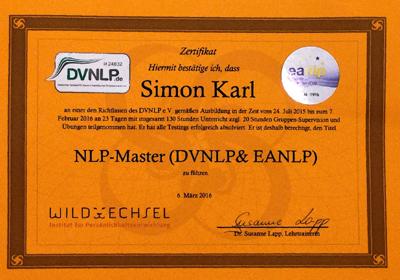 NLP Master Ausbildung